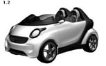 New Smart Roadster/Cabriolet Patents Revealed