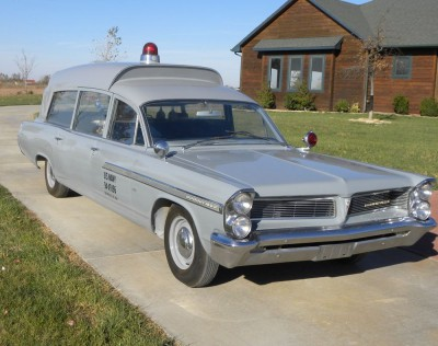 1963 Pontiac Ambulance