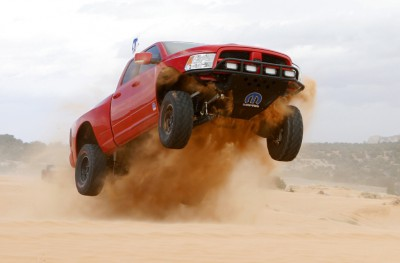 Inspired by Baja-style desert racing, the Mopar Ram Runner was r