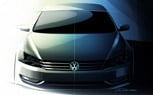 Volkswagen Passat Replacement Teased Once Again Ahead of Detroit Debut
