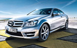 2012 Mercedes C-Class Coupe Photos Leaked