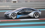 BMW EfficientDynamics Concept i8 Spied at YAS Circuit in Abu Dhabi [Video]