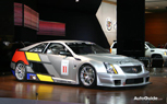 Detroit 2011: Cadillac CTS-V Race Car Caught Uncovered