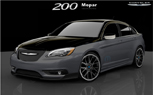 2011 Chrysler 200 S by Mopar to Debut at Detroit Auto Show