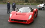 Ferrari P4/5 High Speed Testing in France [Video]