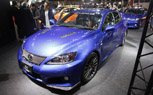 2011 Tokyo Auto Salon: Lexus IS-F Club Performance Accessory Hints at TRD Track Bits
