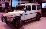 Mercedes G55 AMG Arabia Edition Debuts at Qatar Motor Show