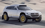 Volkswagen Race Touareg 3 Concept Brings Dakar to the Street