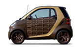 Chocolate-Themed Smart Car Makes Sweet Valentine's Day Gift