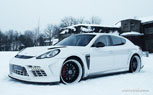 Edo Competition Porsche Panamera 'Moby Dick' Edition Actually Looks Like a Big Angry Whale