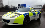 Lotus Evora Police Car Hunting Down Speeders in the UK