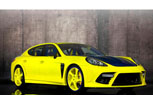 Mansory 'Bright Yellow' Porsche Panamera is Like Applying Highlighter to Your Eyes