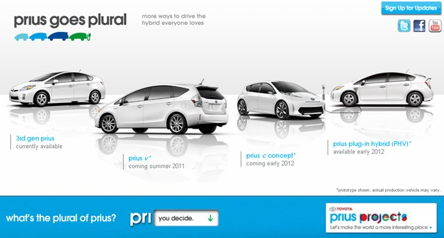 Toyota Asks, What is the Plural of Prius? [Video] - Toyota