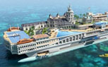 The Streets of Monaco Superyacht Concept Has its Own Go-Cart Track
