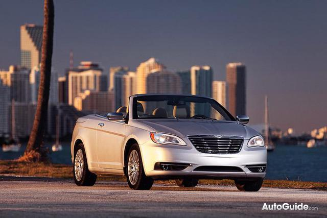 2012 Chrysler 200 Convertible Breaks Cover In Miami, Appropriate For America's Top Rental Car
