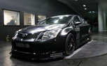 Toyota Avensis BTCC Touring Car Looks Menacing in the Flesh