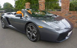 Top Gear Star Jeremy Clarkson's Lamborghini Gallardo Spyder For Sale