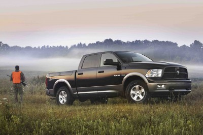2011 Ram Outdoorsman: designed for hunters, fishermen, campers and boaters.