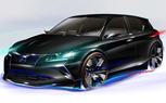 Lexus Project CT Concept by Five Axis Teased Ahead of Chicago Auto Show Debut
