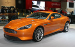 Geneva 2011: Aston Martin Virage Revealed in All its Shiny Copper Beauty