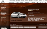 Infiniti Now Lets Consumers View Ratings And Reviews by Owners at InfinitiUSA.com