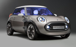 MINI Rocketman Concept: Carbon Spaceframe City Car Gets 94-MPG [Geneva Preview]