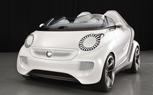 Smart Forspeed EV Roadster Concept Revealed Ahead of Geneva Auto Show