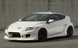 C-West Debuts Two Honda CR-Z Aero Kits