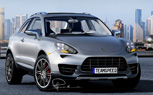 Porsche Cajun Rendering Gives a Glipse at Baby Cayenne