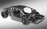 Lamborghini Aventador LP700-4 Rolling Chassis Previewed Ahead of Geneva Debut