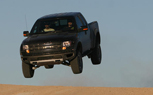 Vaughn Gittin JR Gets Serious Air in the Ford F-150 SVT Raptor [Video]