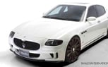 Wald International Introduces Black Bison Maserati Quattroporte