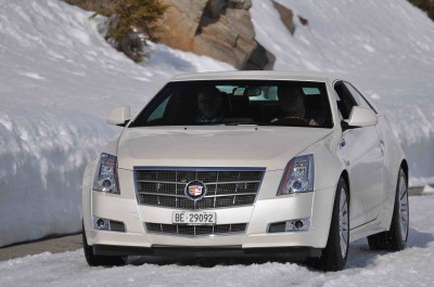2011 Cadillac CTS Coupe Europe