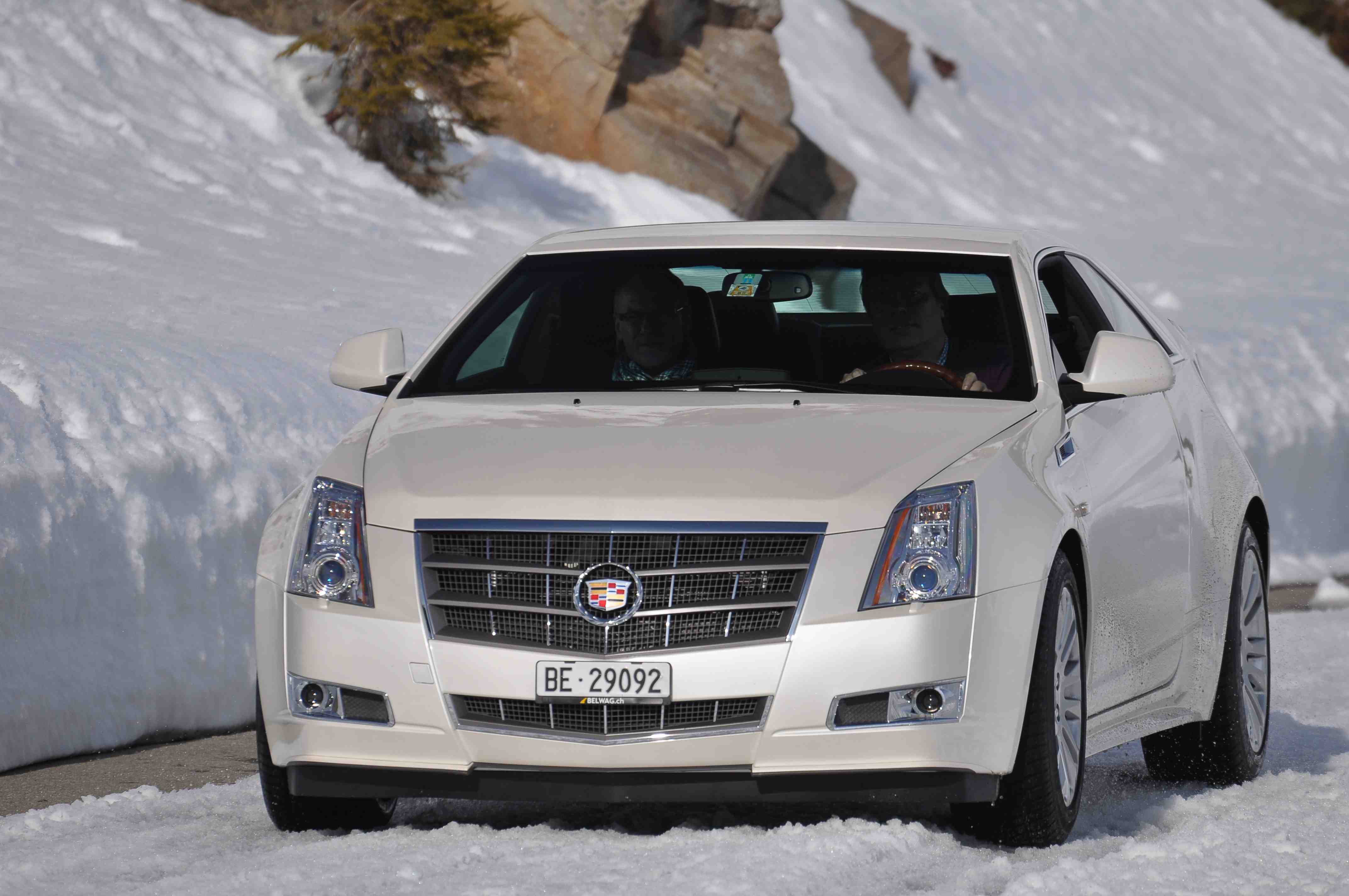 Cadillac CTS Coupe Voted AWD