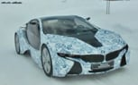 BMW i8 Hybrid Sports Car Spied Testing [Video]