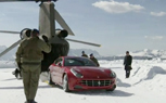 Video: Ferrari FF Goes Skiing Via Helicopter