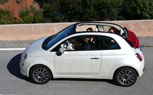 Fiat 500 Convertible to Debut at New York Auto Show