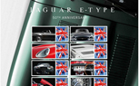 Britain's Royal Mail Celebrates Jaguar E-Type 50th Birthday with Commemorative Stamps