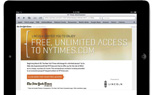 Lincoln Offers Free Access To New York Times Online Section