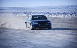 Nokian Tires Set New Ice Speed Record: Audi Bests Bentley