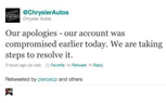 Chrysler Drops F-Bomb Via Twitter, Employee Fired