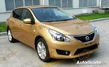 2012 Nissan Versa Hatchback Spied In China