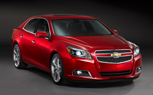 2013 Chevy Malibu Revealed With 4-Cylinder Power and 35-MPG