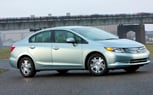 2012 Honda Civic Hybrid Averages 44-MPG, Priced from $24,050 [New York 2011]