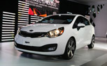 2012 Kia Rio Sedan Debuts With 138-HP, 40-MPG and Start-Stop Technology [New York 2011]