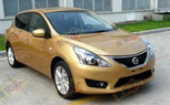 2012 Nissan Versa Set for New York Auto Show Debut Based on Smaller Micra Platform