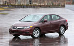 2012 Honda Civic Sedan and Coupe Just Miss 40-MPG