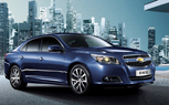2013 Chevy Malibu Revealed Again: This Time in Blue