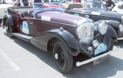 Bentley 4 1:4 litre
