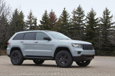 Jeep Grand Cherokee front 3/4